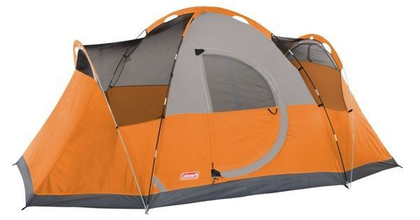 eb271cb938b Coleman Montana 8-person Modified Dome Camping Tent Broken ZIPPER on Bag  for sale online