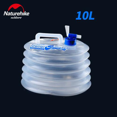 NatureHike Bucket Folding Ultralight 10L Outdoor Camping Hiking Water Bags