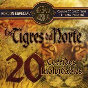 Los-Tigres-del-Norte-Herencia-Musical-20-Corridos-New-CD