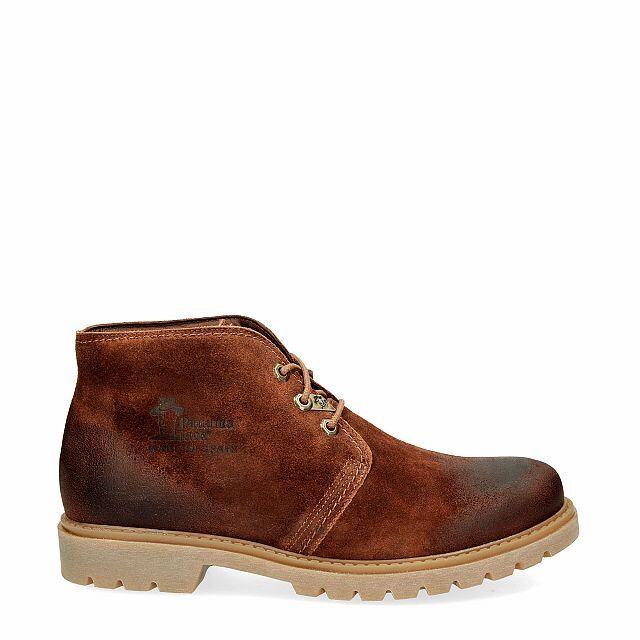 Panama Jack Herrenschuhe Stiefeletten Schuhe Braun Bota Panama C51 Veloursleder