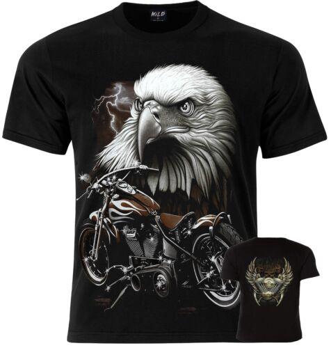 EAGLE BIKER Motorbikes Wild T-Shirt S M L XL