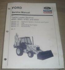 New Holland Ford 455d 555d 575d 655d Backhoe Service Repair Workshop Manual V3