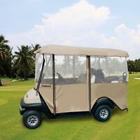 Golf Cart 4 Sided Enclosure Club Car Ezgo Yamaha Cover For 4-person Ar P3j1