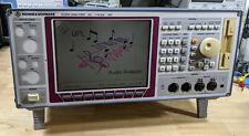 Rohde Amp Schwarz Upl Audio Analyzer With B4 B6 B10 Options Tested