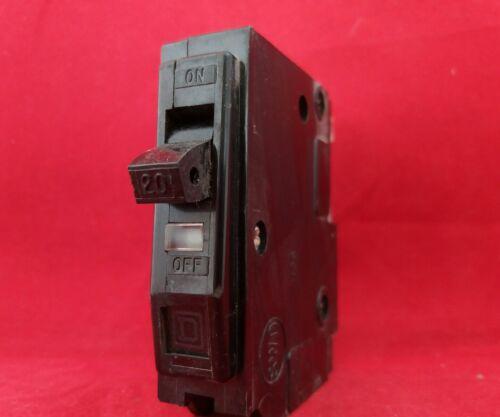SQUARE D QO-X 20A 20AMP TYPE 4 M3 SINGLE POLE SP 1P MCB FUSE SWITCH