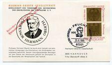 1969 Hermann Oberth Gesellschaft Professor Feucht Deutschland Hannover SPACE