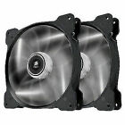 Corsair Air Series SP 120 LED White High Static Pressure Fan Cooling - Twin