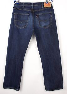 Levi's Strauss & Co Hommes 501 Jeans Jambe Droite Taille W38 L32 BCZ910