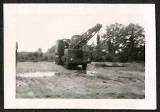 1953 Photo Huge USMC Tow Truck or Wrecker, MCAS Cherry Point North Carolina