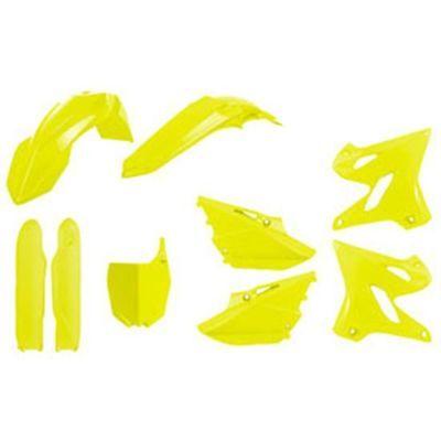 Flo Yellow Polisport 90745 Restyle Plastic Kit