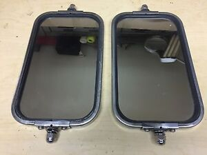 1967 72 Ford Truck West Coast Stainless Junior Mirrors Ebay