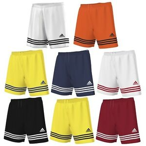 01f3cffff9 Details about Shorts Adidas Entrada 14 Climalite Shorts Soccer Running Gym  Unisex- show original title