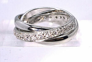925 STERLING SILVER RUSSIAN WEDDING RING SZS PQNTVW CREATED