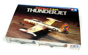 Tamiya-Aircraft-Model-1-72-Airplane-Republic-F-84G-THUNDERJET-Scale-Hobby-60745