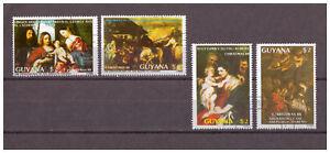 Guyane-500-Anniversaire-de-Ticien-Minr-2410-2413-1988-Used