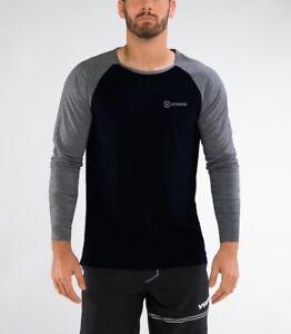 New-Men-039-s-Fitness-T-shirt-a-manches-longues-Gym-Vetements-Entrainement-Sport-Training-Wear
