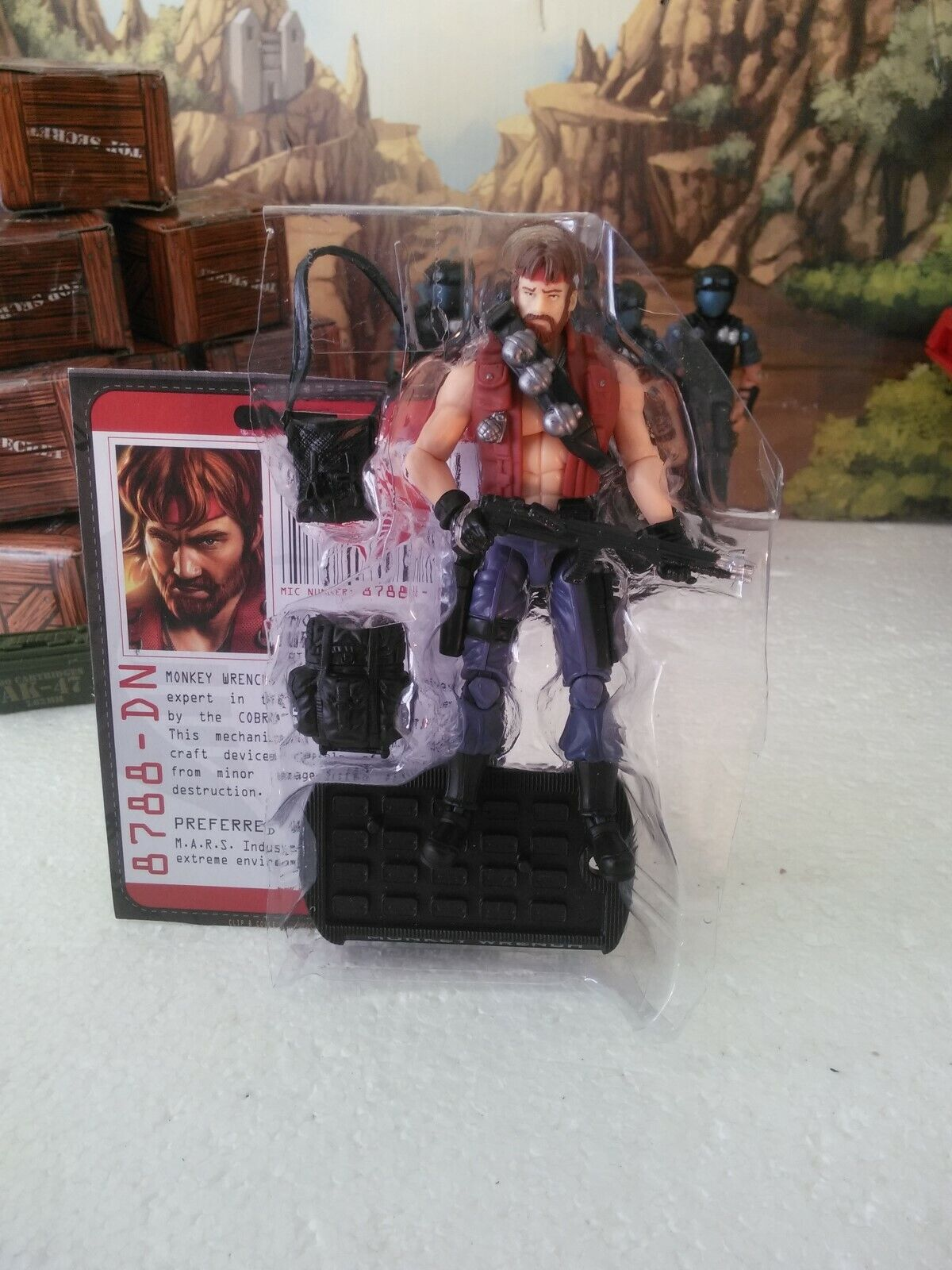 Wal-Mart Exclusive  2009 Dreadnok  MONKEY WRENCH(v3) 100% CMP