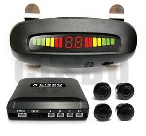 Reversing-Parking-4-Sensors-LED-Audio-Buzzer-Roof-Mount-Mirror-Image-display