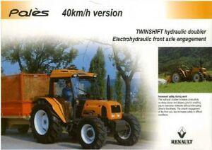 Renault Tractor Pales 210 230 240 Brochure