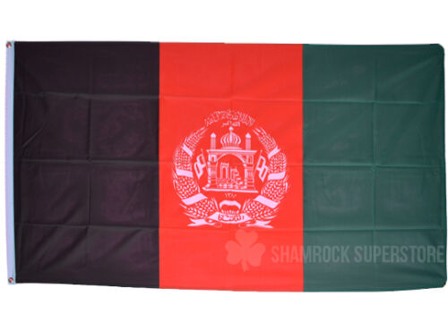 Afghanistan New Design National Bunting 3 metre 10 flags