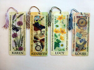 History-Heraldry-3D-Personalised-Bookmarks-Names-K-L
