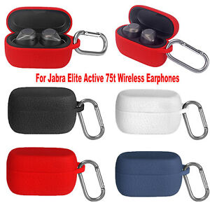 Silicone Protection Case Cover For Jabra Elite Active 75t Wireless Earphones New Ebay