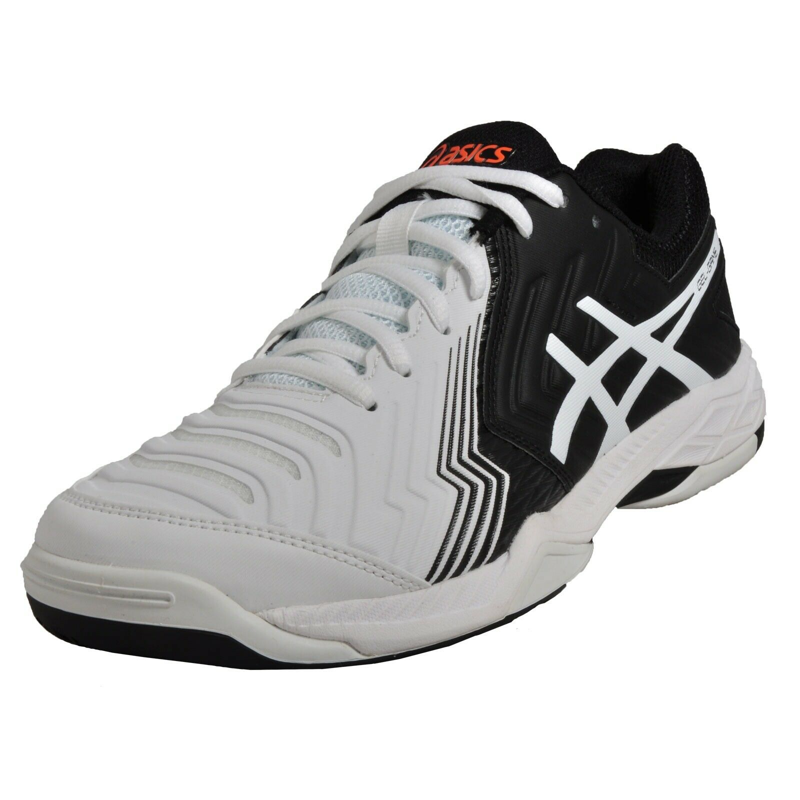 finest selection ebc62 47b0a Gel Game 6 E705Y 0190 Black Sports Trainers White Asics nujggv6577-Men s  Trainers