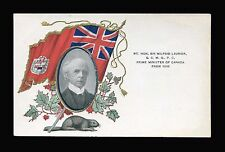 VINTAGE - SIR WILFRID LAURIER PRIME MINISTER OF CANADA - POSTCARD