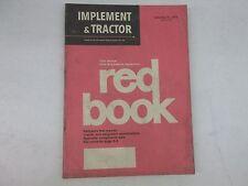 1973 Farm Tractor And Implement Red Book International John Deere Lamborghini