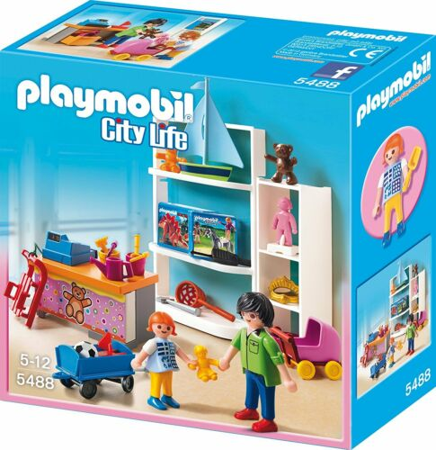 PLAYMOBIL ® 5488 City Life-Negozio Giocattoli negozio di giocattoli 51 Pezzi Nuovo//Scatola Originale