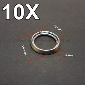 10x Diff Filler Drain Plug Washer Gasket For Toyota Ebay