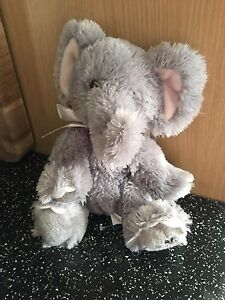 "RUSS Shining Stars Elephant Collectable Soft Toy Cat 9"" X 8"". Approx."