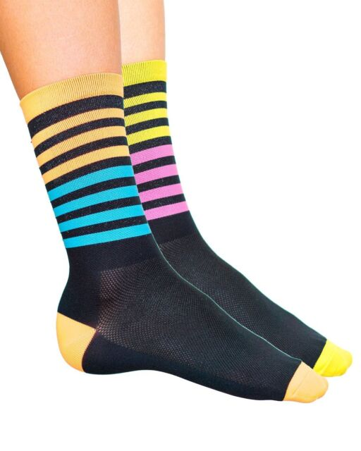 "Sockguy Socks 3/"" Classic Prism S//M Cycling//Running"