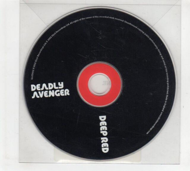 (GP834) Deadly Avenger, Deep Red - 2002 DJ CD