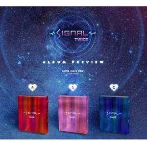 TWICE-Signal-4th-Mini-Album-Random-ver-CD-PhotoBook-PhotoCard-Free-Gift