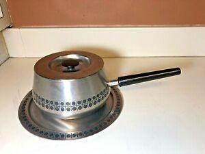 SIGG Switzerland INOX 18/8 Stainless Steel Fondue Pot - Vintage