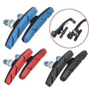 Freno-2x-pastiglia-bici-bicicletta-mountain-bike-gomma-70mm-frizione-silenziosa