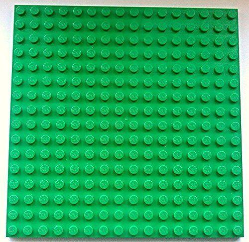 Lego 1 X Placa Verde Placa Base Pin 16x16 12.8 cm X 12.8 cm X 0.5 cm-Nuevo