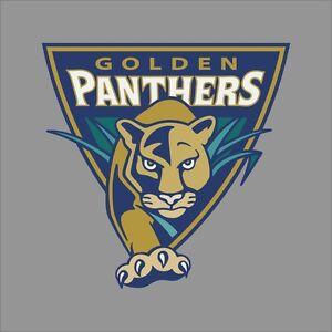 Florida Int'l Golden Panthers NCAA College Vinyl Sticker Decal Car Window Wall