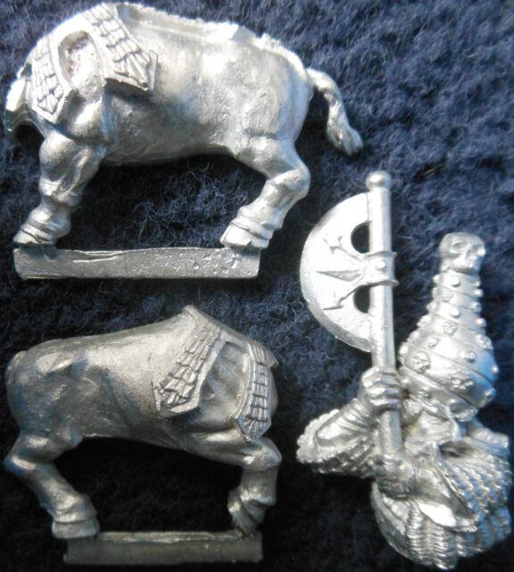 1992 Chaos Dwarf Bull Centaur Axe 5 Body 1 Renders Citadel Dwarves Dawi Zharr GW