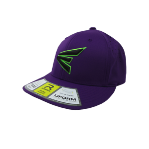 All Purple//Neon Green//Black SM//MD PTS30 Easton Hat by Richardson