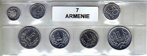 Arménie Série De 7 Pièces De Monnaie