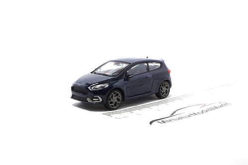 Minichamps Ford Fiesta ST Dunkelblau #870087100 2018-1:87