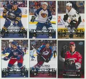 2008-09-Upper-Deck-Series-2-YOUNG-GUNS-Rookie-U-Pick-COMPLETE-YOUR-SETS
