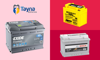 10% off Tayna Batteries Store