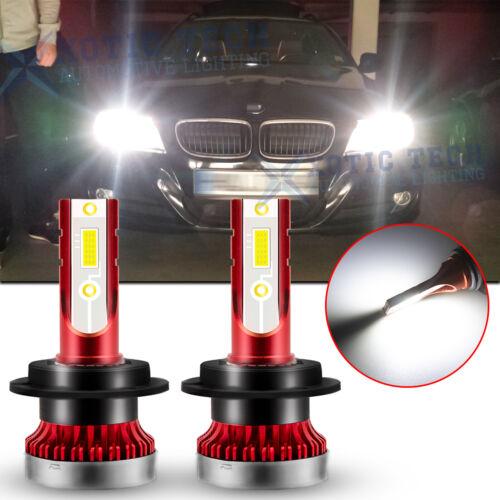 H7 Xenon White LED High Beam Headlight Bulb 6000K For BMW E90 F30 328i 330i 335i