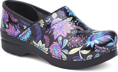 Women's Shoes Candid Dansko Professionell Holzschuhe Wildflower Patent Damen Größe 36-42/6-12 Neu Be Shrewd In Money Matters