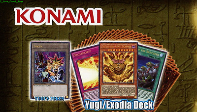 Egyptian Gods YUGI 43-Cards Deck LDK2 Exodia Spellcasters* YUGIOH Ties of