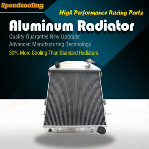 62mm 3 row Aluminum Radiator Fit Ford Model T Bucket Ford Engine 1917-1927 AT//MT