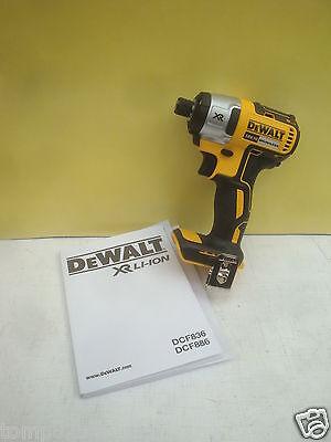 DEWALT LI-ION XR 18V 18VOLT DCF886 BRUSHLESS IMPACT DRIVER BARE UNIT